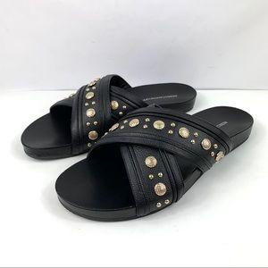 Rebecca Minkoff Flat Sandal TORI Sandals Sz 10
